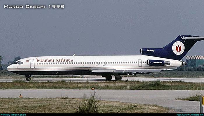 TC-AFC B727-228 19863/691 Istanbul Airlines @ Aeroporto di Verona © Piti Spotter Club Verona