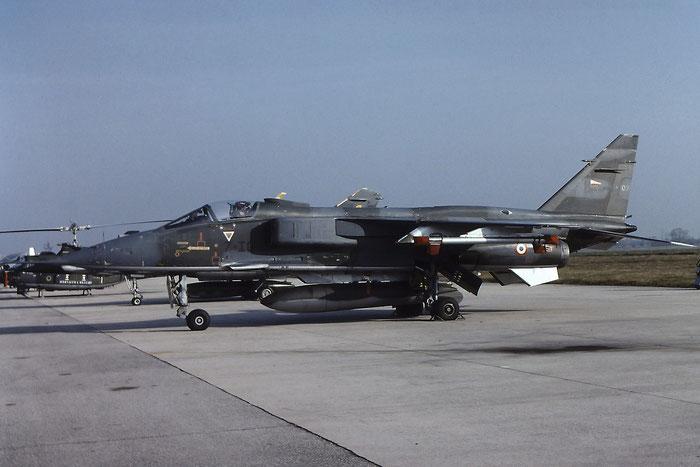 XX975  07  Jaguar GR1  S97  Cosford @ Aeroporto di Verona   © Piti Spotter Club Verona