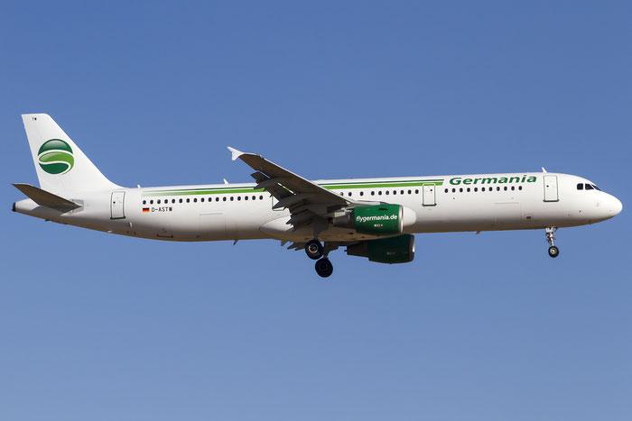 D-ASTW A321-211 970 Germania @ Palma de Mallorca Airport 07.2014 © Piti Spotter Club Verona