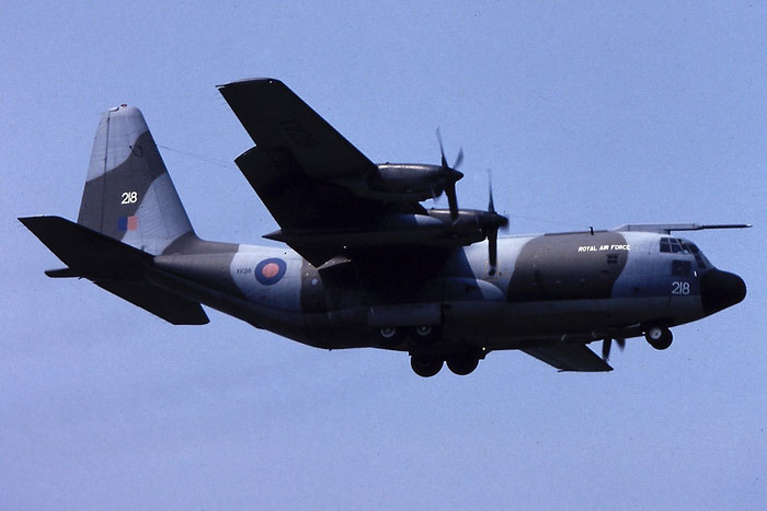 XV218   Hercules C1  4245   @ Aeroporto di Verona   © Piti Spotter Club Verona