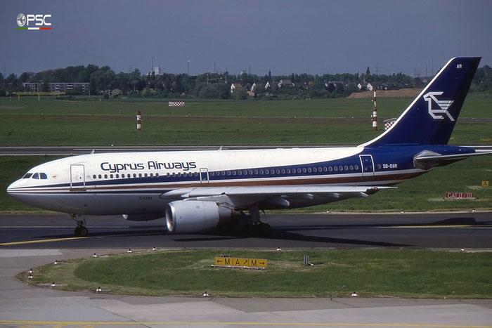 5B-DAR A310-203 309 Cyprus Airways (1947) © 2018 courtesy of Marco Ceschi - Piti Spotter Club Verona