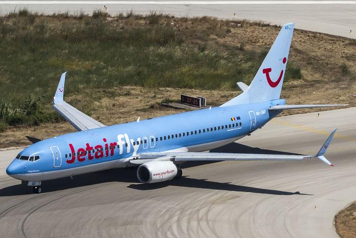 OO-JAD B737-8K5 39093/3601 Jetairfly @ Rhodes Airport 06.07.2015 © Piti Spotter Club Verona