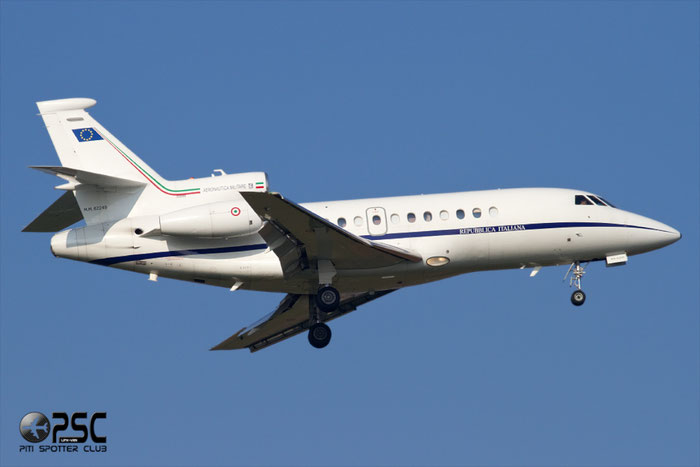 MM62245 - Italy - Air Force Dassault Falcon 900EX - MM62245 @ Aeroporto di Verona © Piti Spotter Club Verona