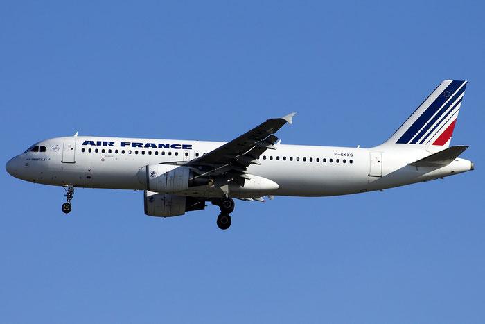 F-GKXS A320-214 3825 Air France @ Venice Airport 24.09.2014 © Piti Spotter Club Verona