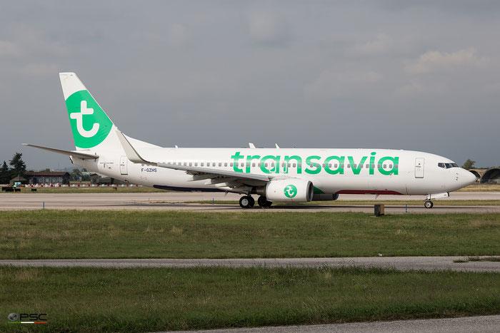 F-GZHS B737-84P 35074/2217 Transavia France - @ Aeroporto di Verona - 05/10/2016 © Piti Spotter Club Verona