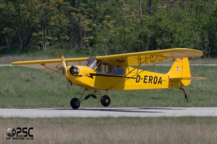 D-EROA - Piper J3 Cub @ Aeroporto Verona Boscomantico © Piti Spotter Club Veron