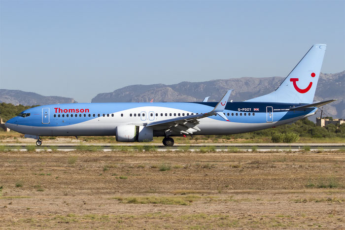 G-FDZY B737-8K5 37261/3844 Thomson Airways @ Palma de Mallorca Airport 07.2014 © Piti Spotter Club Verona