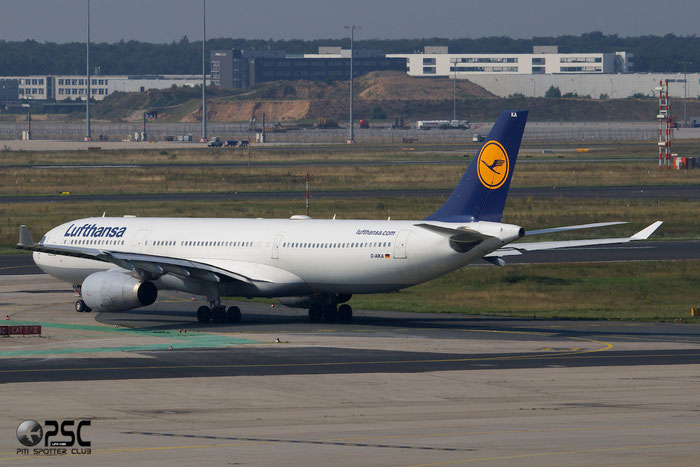 D-AIKA A330-343E 570 Lufthansa @ Frankfurt Airport 25.07.2014 © Piti Spotter Club Verona
