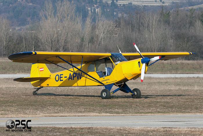 OE-APW Piper PA-18-150 Super Cub PA18 18-8672 @ Aeroporto Verona Boscomantico © Piti Spotter Club Verona
