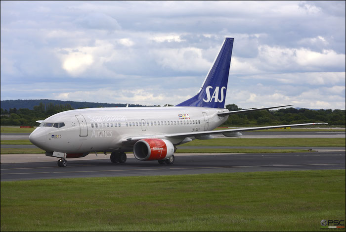 LN-RRY B737-683 28297/30 SAS Scandinavian Airlines - Scandinavian Airlines System @ Manchester Airport 21.06.2015 © Piti Spotter Club Verona