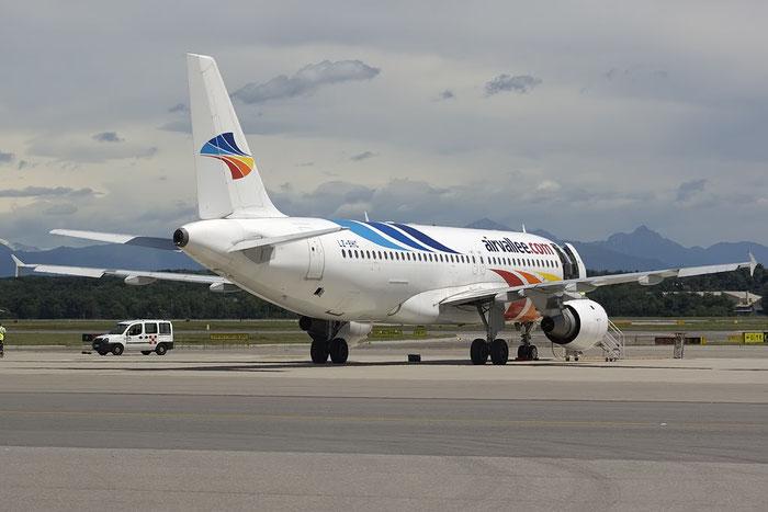 LZ-BHC A320-212 349 Air Vallee @ Milano Malpensa Airport 07.2009 © Piti Spotter Club Verona