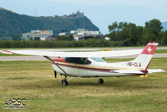 HB-CLA Cessna R182 C82R R18201701 Groupe de vol a moteur Neuchatel @ Aeroporto di Bolzano © Piti Spotter Club Verona