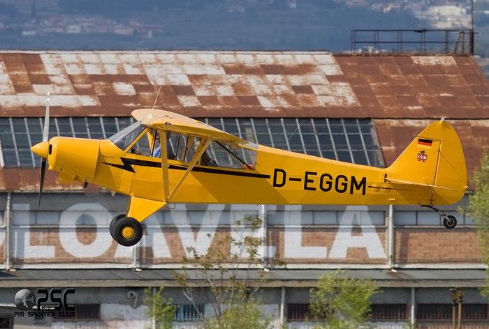 D-EGGM Piper PA-18 PA18 @ Aeroporto Verona Boscomantico © Piti Spotter Club Verona