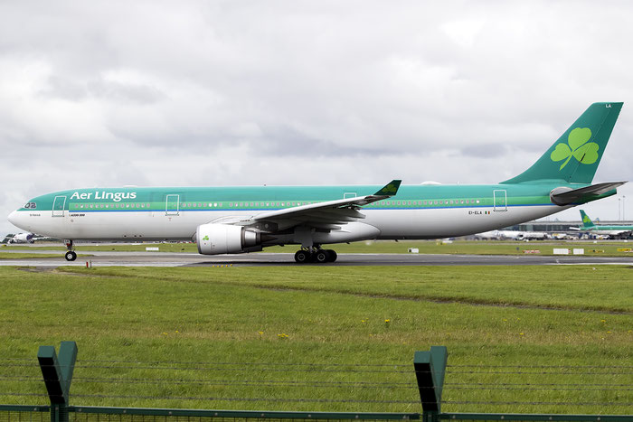 EI-ELA A330-302E 1106 Aer Lingus @ Dublin Airport 14.08.2016 © Piti Spotter Club Verona
