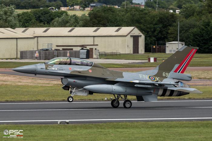691   F-16BM  6L-10  331 skv © Piti Spotter Club Verona