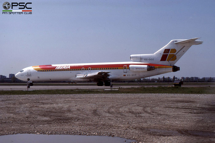 EC-DCC B727-256 21609/1369 Iberia Líneas Aéreas de España © 2018 courtesy of Marco Ceschi - Piti Spotter Club Verona