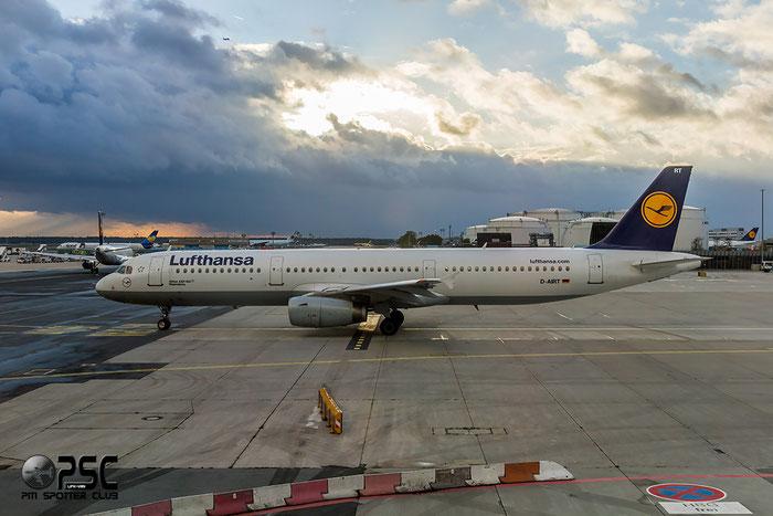 D-AIRT A321-131 652 Lufthansa @ Frankfurt Airport 22.10.2014  © Piti Spotter Club Verona