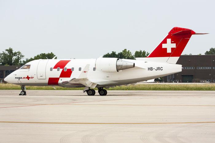HB-JRC CL-604 5540 Swiss Air Ambulance @ Treviso Airport 10.07.2013 © Piti Spotter Club Verona