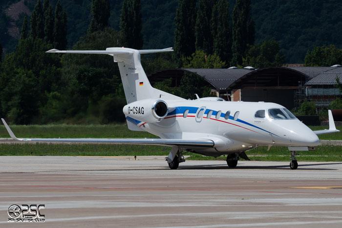 D-CSAG EMB505 50500101 Sudzucker Reise Service GmbH @ Aeroporto di Bolzano © Piti Spotter Club Verona
