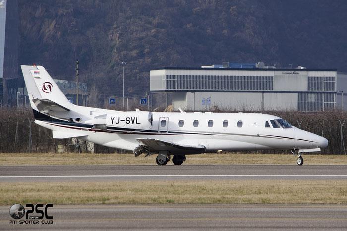 YU-SVL Ce560XLS 560-5772 @ Aeroporto di Bolzano © Piti Spotter Club Verona