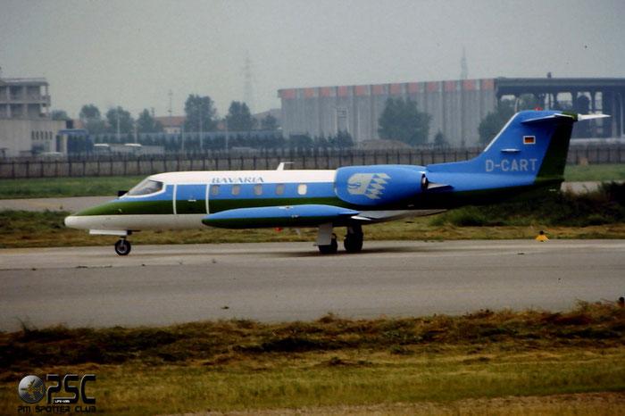 D-CART  Learjet 35A  35A-354   @ Aeroporto di Verona © Piti Spotter Club Verona
