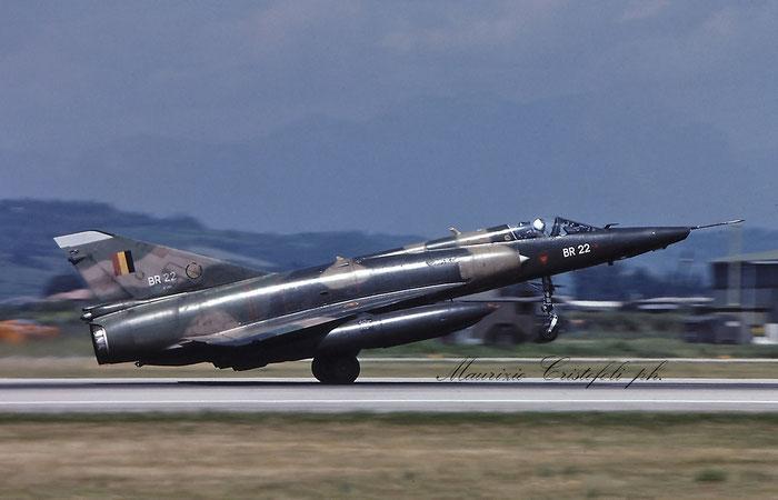 BR22   Mirage 5BR  322   @ Aeroporto di Verona © Piti Spotter Club Verona