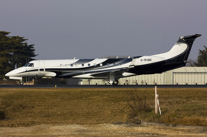 G-RUBE ERJ135BJ 14501100 London Executive Aviation @ Treviso Airport 29.01.2012 © Piti Spotter Club Verona