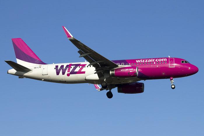 HA-LYE A320-232 6131 Wizz Air @ Treviso Airport 24.01.2015 © Piti Spotter Club Verona