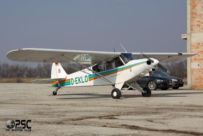 D-EKLO Piper PA-18 PA18 @ Aeroporto Verona Boscomantico © Piti Spotter Club Verona