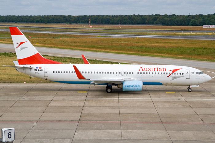 OE-LNQ B737-8Z9 30421/1345 Austrian Airlines @ Berlin Tegel Airport 06.2012 © Piti Spotter Club Verona