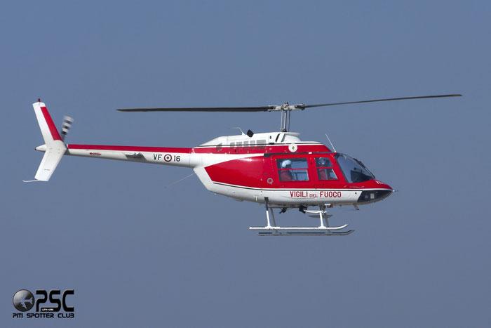 VFAC  VF-16  AB206B-3  8653  Reparto Volo B @ Aeroporto di Verona   © Piti Spotter Club Verona