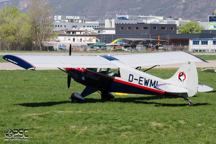 D-EWMI Aviat Aircraft Inc A-1 Husky HUSK 1376 @ Aeroporto di Bolzano © Piti Spotter Club Verona