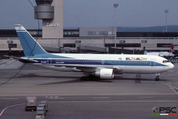4X-EAB B767-258 22973/68 El Al Israel Airlines © 2018 courtesy of Marco Ceschi - Piti Spotter Club Verona