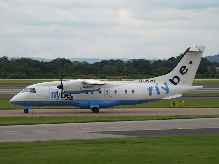 G-BWWT Do328-110 3022 Suckling Airways opf Flybe @ Manchester Airport 20.07.2012 © Piti Spotter Club Verona