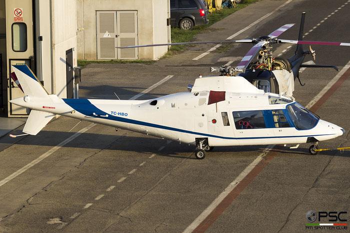 Helicopter Agusta A109A-II Serial 7414 @ Reggio Emilia 2018 © Piti Spotter Club Verona