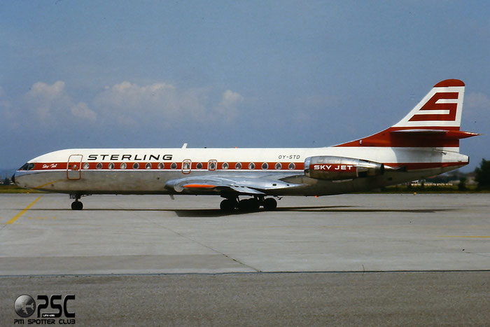 OY-STD SE210-10B3 238/236 @ Aeroporto di Verona © Piti Spotter Club Verona