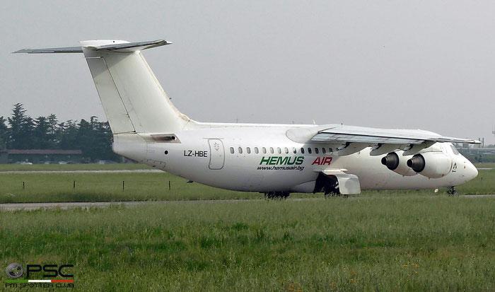 LZ-HBE BAe146-300 E3131 Hemus Air @ Aeroporto di Verona   © Piti Spotter Club Verona