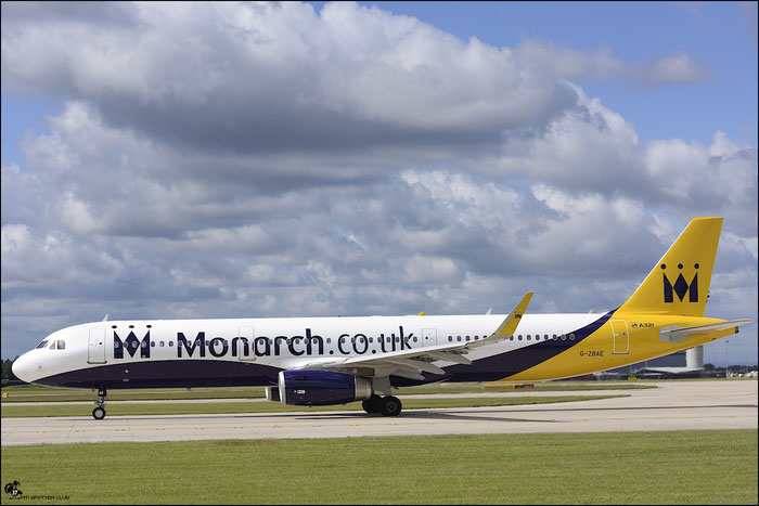 G-ZBAE A321-231 5606 Monarch Airlines @ Manchester Airport 21.06.2015 © Piti Spotter Club Verona