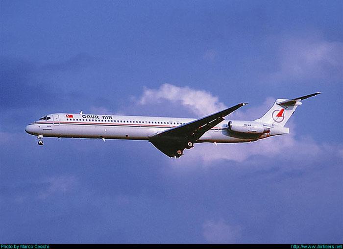 TC-ONO  MD-88  53548/2180  Onur Air  @ Aeroporto di Verona © Piti Spotter Club Verona