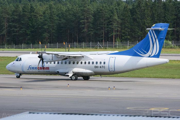 OH-ATC ATR42-500 651 FinnComm Airlines @ Helsinki Airport 2008 © Piti Spotter Club Verona