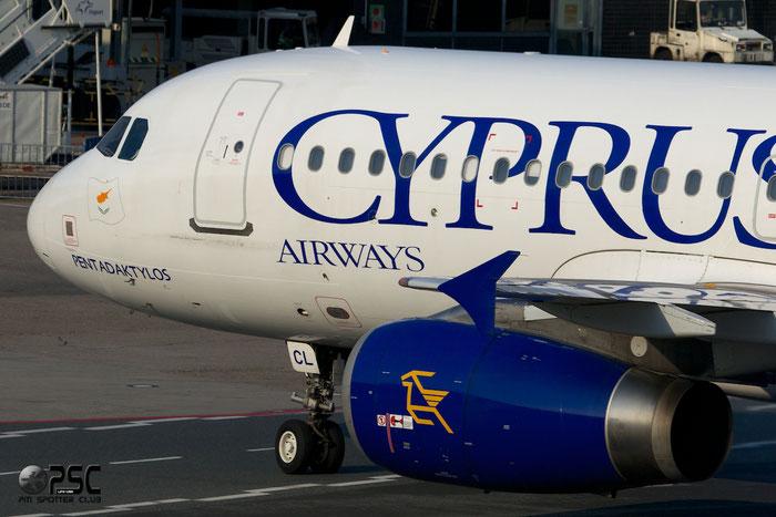 5B-DCL A320-232 2334 Cyprus Airways (1947) @ Frankfurt Airport 25.07.2014 © Piti Spotter Club Verona