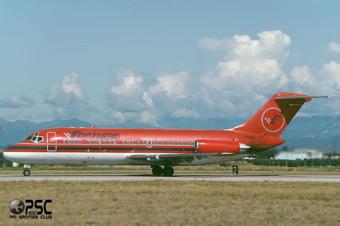 I-TIAN  DC-9-15RC  47010/97  Fortune Aviation  @ Aeroporto di Verona © Piti Spotter Club Verona