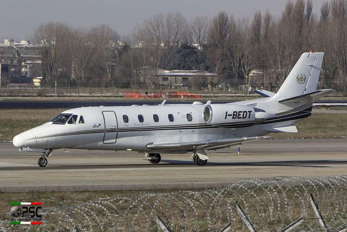 I-BEDT Ce560XL 560-5172 Euroaviation @ Milano Linate Airport 30.12.2014 © Piti Spotter Club Verona
