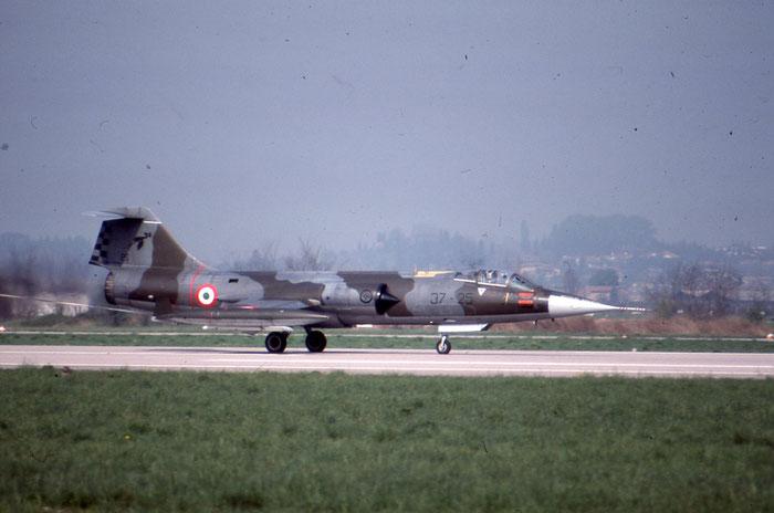 MM6943  37-25  F-104S-ASA-M  1243 @ Aeroporto di Verona © Piti Spotter Club Verona