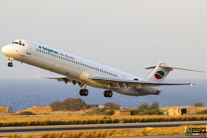 LZ-LDJ  MD-82  53230/2106  Bulgarian Air Charter  @ Heraklion 2019 © Piti Spotter Club Verona