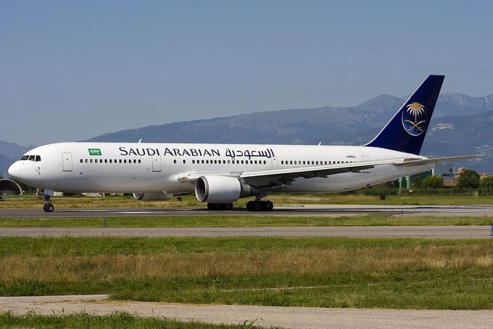 I-AIGJ  B767-304ER  28039/610  Saudia - Saudi Arabian Airlines @ Aeroporto di Verona  © Piti Spotter Club Verona