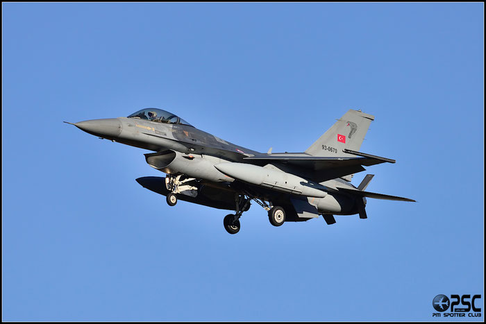 93-0670   F-16C-50-CF  HC-14  191 Filo © Piti Spotter Club Verona