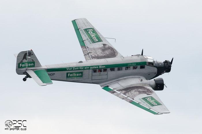 HB-HOP Junkers Ju-52/3m g4e JU52 6610 Ju-Air (VFL), Duebendorf @ Aeroporto di Bolzano © Piti Spotter Club Verona