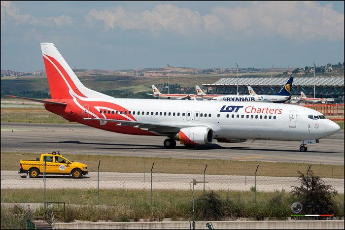 SP-LLL B737-4Q8 25164/2447 LOT Charters @ Madrid Airport 2011 © Piti Spotter Club Verona