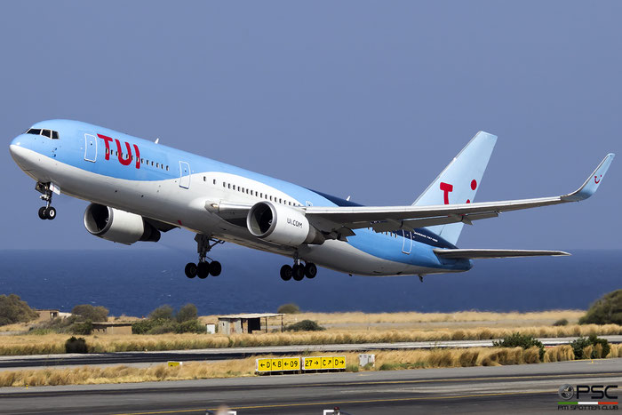 G-OBYG  B767-304ER  29137/733  TUI Airways  @ Heraklion 2019 © Piti Spotter Club Verona